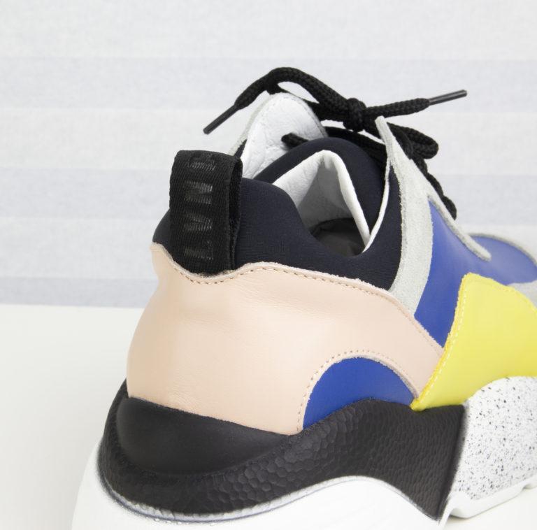 Sneakers lacci mix Liviana Conti