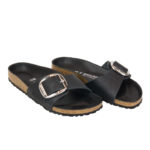 Birkenstock Madrid Big Buckle: sandali donna in cuoio