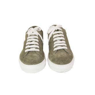 Sneakers uomo Doucal's Salvia e Bianco