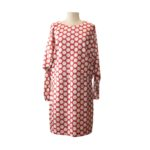 Abito Manila Grace: vestito donna con motivo optical bianco e rosso