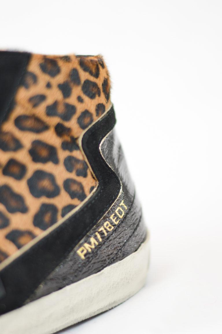 Sneakers alte leopardate