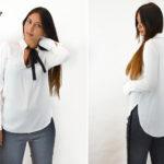 camicia bianca donna