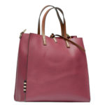 Manila Grace borsa Felicia: must have bag color vinaccia in ecopelle