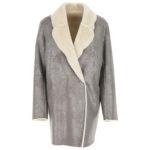 Montone ecologico: coat argento by Liviana Conti