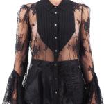 Camicia pizzo: lace shirt donna Aniye By con maniche a calice
