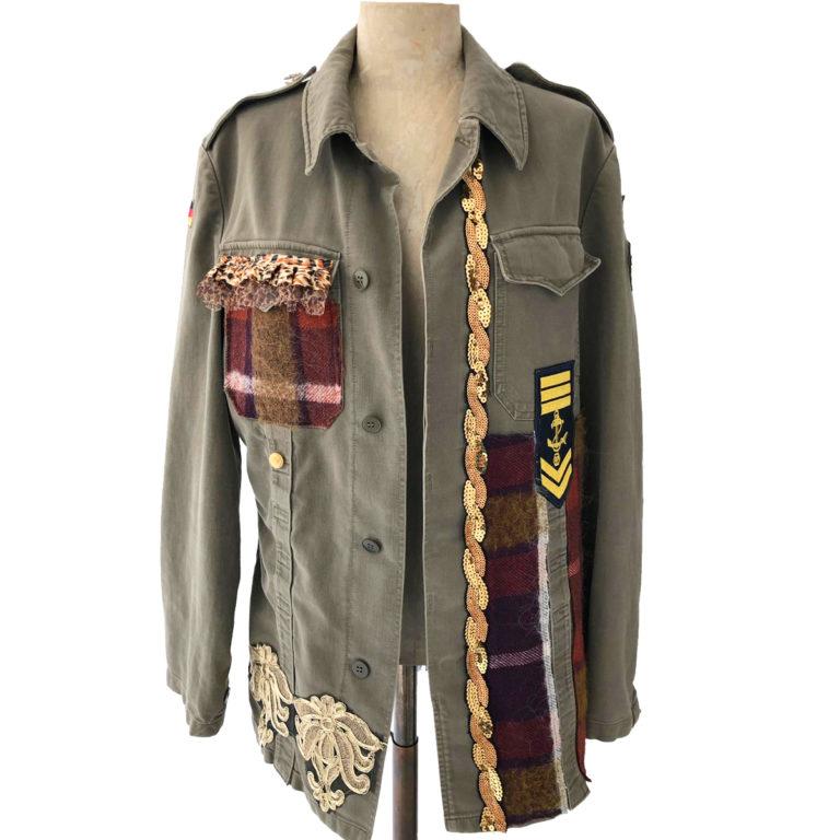 giacca militare donna