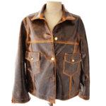 Giubbotto pelle donna: Lucciola Jacket by Momonì