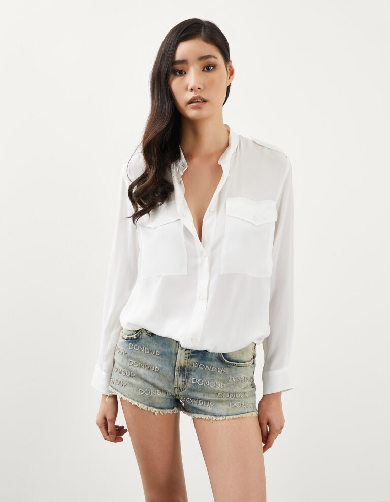 Camicia bianca Dondup