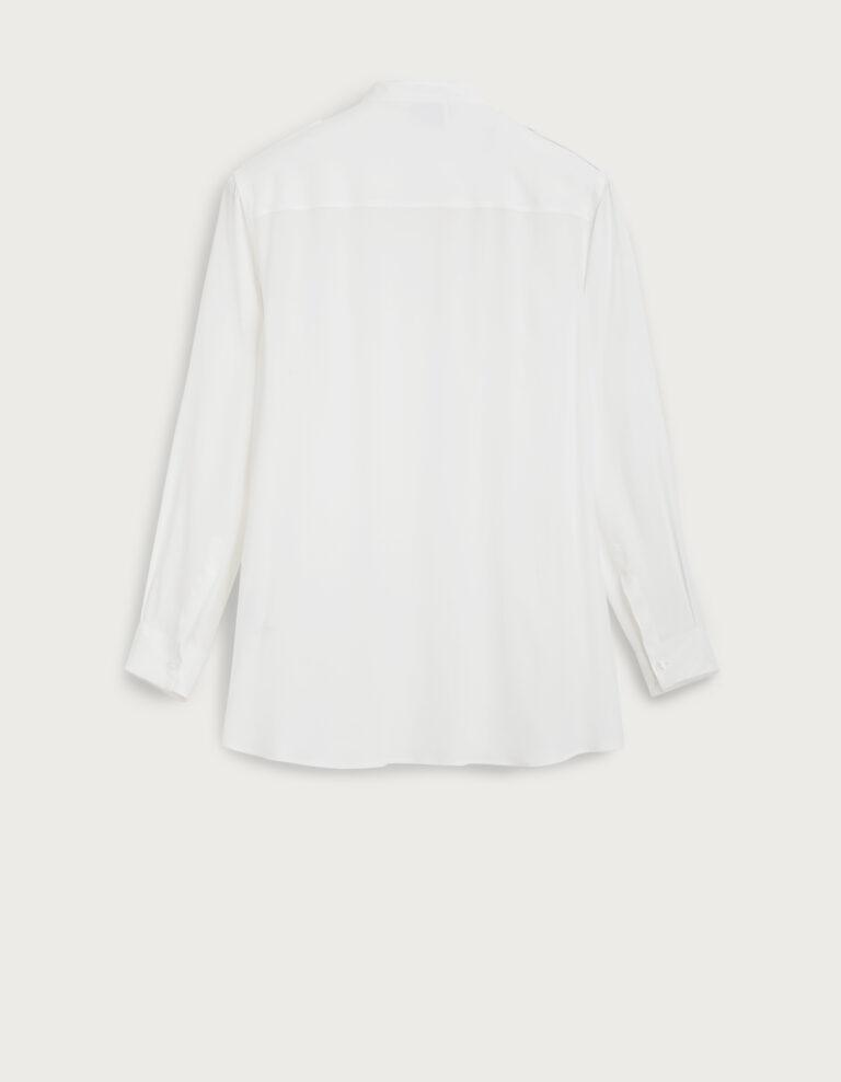 Camicia bianca lunga