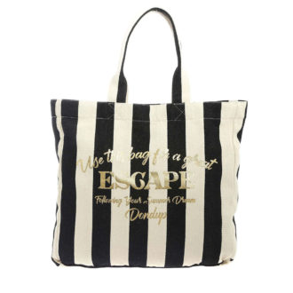 Shopper bag Dondup righe 2