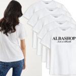 t-shirt bianca