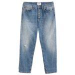 Jeans gioiello: denim donna modello koons color indaco chiaro