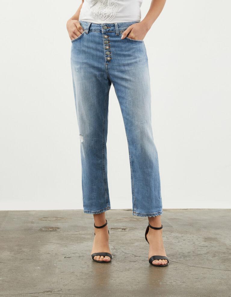 jeans koons indaco medio