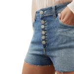 Short jeans: hot pants Klum in denim Dondup