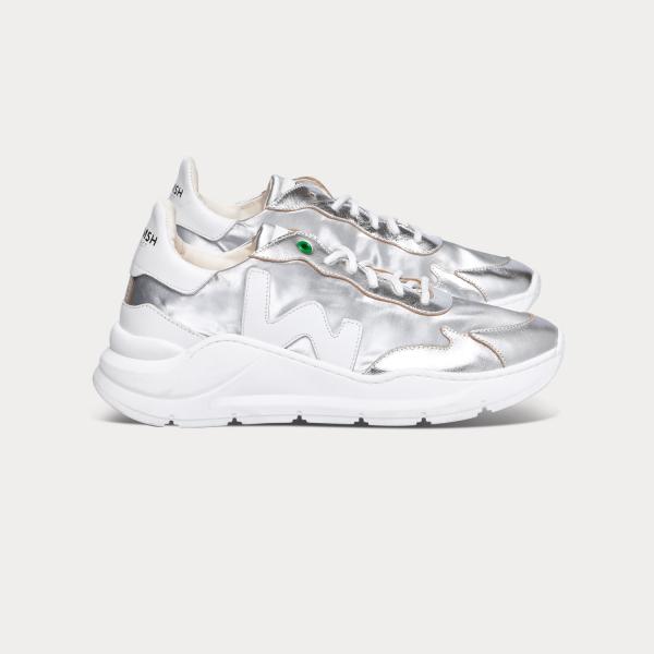 Sneakers Womsh Vegane Wave Silver