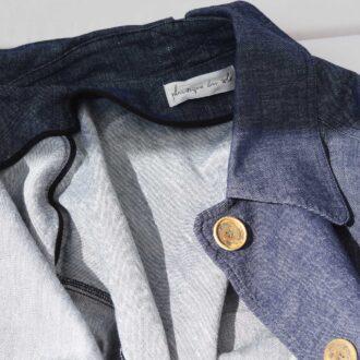 giacca destrutturata in jeans 01
