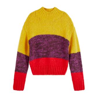 Maglione righe colorate