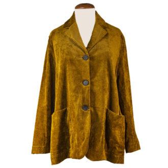 blazer donna velluto
