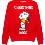 Maglione Snoopy Natale: pull rosso con stampa by Mc2 Saint Barth