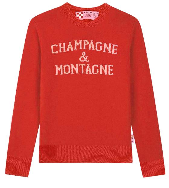 Maglione rosso donna