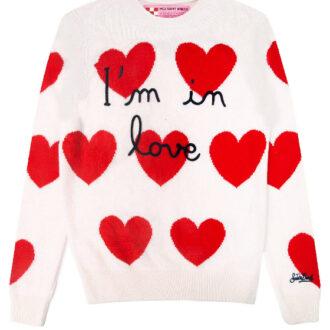 maglione donna cuori by Mc2 Sainth barth