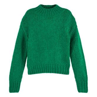maglione verde donna