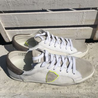 Philippe Model: sneakers blanc gris RT03