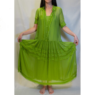 abito verde alga