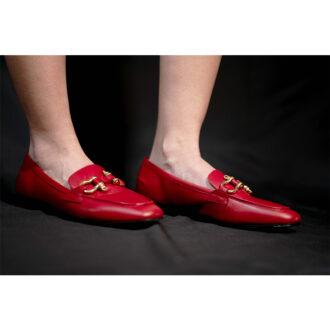 mocassino rosso 01
