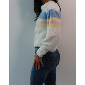 maglione stripes block